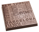 Chocolate World CW1864 Chocolate mould Tablet city names