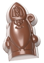 Chocolate World CW1870 Chocolate mould St Nicholas chocolate