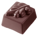 Chocolate World CW1871 Chocolate mould square leaf 9, 5 gr