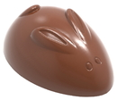 Chocolate World CW1875 Chocolate mould Rabbit abstract