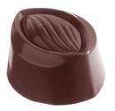 Chocolate World CW1876 Chocolate mould almond 9 gr