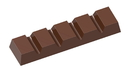 Chocolate World CW1882 Chocolate mould small bar