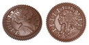 Chocolate World CW1895 Chocolate mould caraque Venus & Diana
