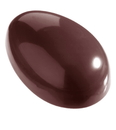 Chocolate World CW2005 Chocolate mould egg smooth 63 mm