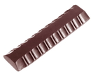 Chocolate World CW2011 Chocolate mould bar facetten 37 gr