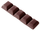 Chocolate World CW2013 Chocolate mould bar  43 gr