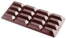 Chocolate World CW2015 Chocolate mould tablet 4x4 long 115 gr