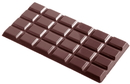 Chocolate World CW2017 Chocolate mould tablet 6x4 27 gr