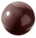 Chocolate World CW2022 Chocolate mould half sphere Ø 30 mm