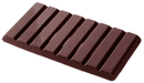 Chocolate World CW2029 Chocolate mould tablet 1x8 250 gr