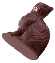 Chocolate World CW2046 Chocolate mould sitting cat