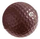 Chocolate World CW2048 Chocolate mould golf ball Ø40 mm