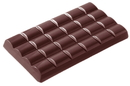 Chocolate World CW2049 Chocolate mould tablet 6x4 wavy 103 gr