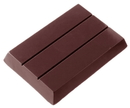 Chocolate World CW2050 Chocolate mould tablet 1x3 flat 88 gr