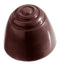 Chocolate World CW2062 Chocolate mould patern top