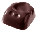 Chocolate World CW2064 Chocolate mould square pushed