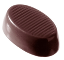 Chocolate World CW2075 Chocolate mould oval short