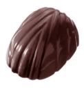 Chocolate World CW2078 Chocolate mould bonbon waved