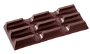 Chocolate World CW2092 Chocolate mould tablet 3x3 long 24 gr