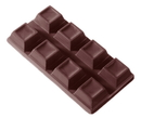 Chocolate World CW2094 Chocolate mould tablet cubes 2x4 58 gr