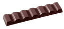 Chocolate World CW2096 Chocolate mould bar 7 cubes 28 gr
