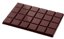 Chocolate World CW2104 Chocolate mould tablet 4x6 flat 210 gr