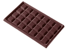 Chocolate World CW2108 Chocolate mould tablet 4x7 flat