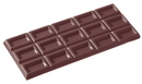 Chocolate World CW2109 Chocolate mould tablet 3x5 rectangle
