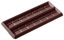 Chocolate World CW2117 Chocolate mould tablet 2x1 lozenge