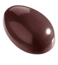 Chocolate World CW2137 Chocolate mould egg smooth 43 mm