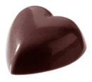 Chocolate World CW2143 Chocolate mould heart 6x10 pcs