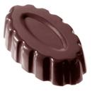 Chocolate World CW2149 Chocolate mould marie josé oval