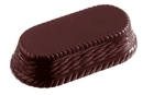 Chocolate World CW2151 Chocolate mould oval basket