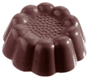 Chocolate World CW2159 Chocolate mould turban cup 70 mm