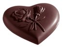 Chocolate World CW2161 Chocolate mould heart rose