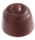 Chocolate World CW2171 Chocolate mould cherry twisted