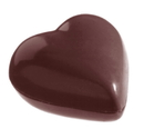 Chocolate World CW2175 Chocolate mould heart 2 x 7, 5 gr