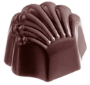 Chocolate World CW2188 Chocolate mould scallop large