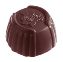 Chocolate World CW2189 Chocolate mould cuvette rose