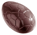 Chocolate World CW2206 Chocolate mould egg kroko 88 mm