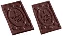 Chocolate World CW2211 Chocolate mould i love you