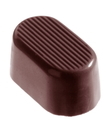 Chocolate World CW2216 Chocolate mould oval arcering