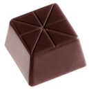 Chocolate World CW2231 Chocolate mould carre fantasy