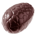Chocolate World CW2256 Chocolate mould egg kroko 47 mm
