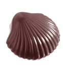 Chocolate World CW2281 Chocolate mould small shell