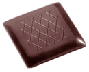 Chocolate World CW2303 Chocolate mould tablet chanel ca.4gr