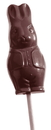Chocolate World CW2317 Chocolate mould lolly hare