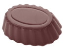 Chocolate World CW2346 Chocolate mould cuvette oval
