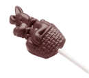 Chocolate World CW2347 Chocolate mould dog on stick
