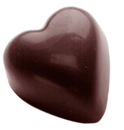 Chocolate World CW2348 Chocolate mould small puffy heart 14 gr